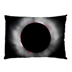 Solar Eclipse Pillow Case by BangZart
