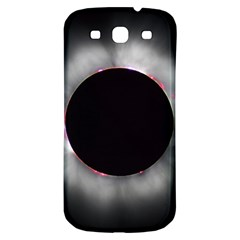 Solar Eclipse Samsung Galaxy S3 S Iii Classic Hardshell Back Case by BangZart