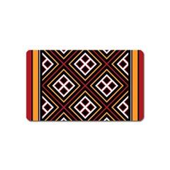 Toraja Pattern Pa re po  Sanguba ( Dancing Alone ) Magnet (name Card) by BangZart