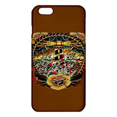 Tattoo Art Print Traditional Artwork Lighthouse Wave Iphone 6 Plus/6s Plus Tpu Case by BangZart