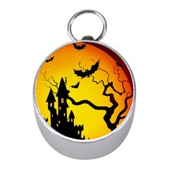 Halloween Night Terrors Mini Silver Compasses by BangZart
