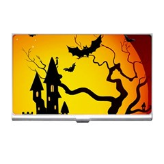 Halloween Night Terrors Business Card Holders by BangZart