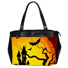 Halloween Night Terrors Office Handbags (2 Sides)