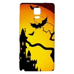 Halloween Night Terrors Galaxy Note 4 Back Case by BangZart