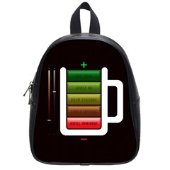 Black Energy Battery Life School Bags (small)  by BangZart