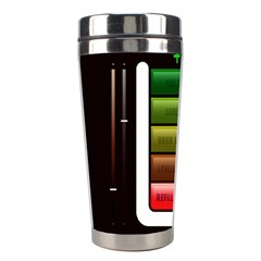 Black Energy Battery Life Stainless Steel Travel Tumblers by BangZart
