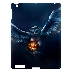 Owl And Fire Ball Apple Ipad 3/4 Hardshell Case by BangZart