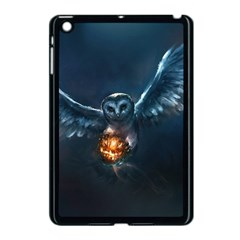 Owl And Fire Ball Apple Ipad Mini Case (black)