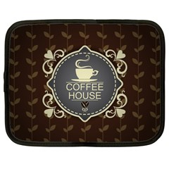 Coffee House Netbook Case (xxl)  by BangZart