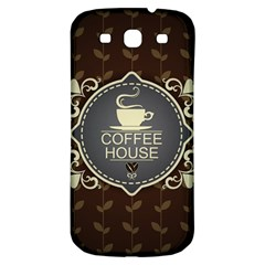 Coffee House Samsung Galaxy S3 S Iii Classic Hardshell Back Case by BangZart