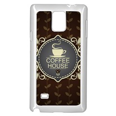 Coffee House Samsung Galaxy Note 4 Case (white)