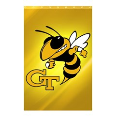 Georgia Institute Of Technology Ga Tech Shower Curtain 48  X 72  (small)  by BangZart