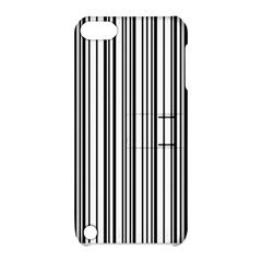 Barcode Pattern Apple Ipod Touch 5 Hardshell Case With Stand