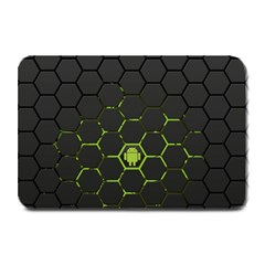 Green Android Honeycomb Gree Plate Mats