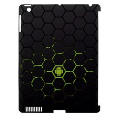 Green Android Honeycomb Gree Apple Ipad 3/4 Hardshell Case (compatible With Smart Cover) by BangZart