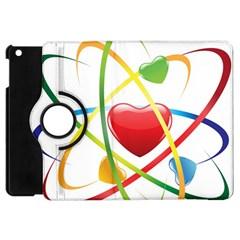 Love Apple Ipad Mini Flip 360 Case by BangZart