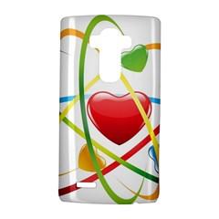 Love Lg G4 Hardshell Case by BangZart