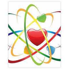 Love Drawstring Bag (small) by BangZart