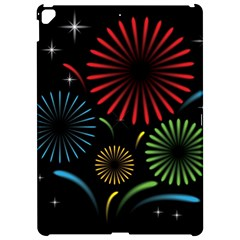 Fireworks With Star Vector Apple Ipad Pro 12 9   Hardshell Case by BangZart