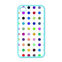 Circle Pattern Apple Iphone 4 Case (color) by BangZart