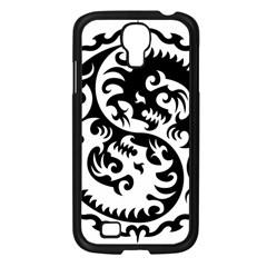 Ying Yang Tattoo Samsung Galaxy S4 I9500/ I9505 Case (black) by BangZart