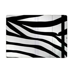White Tiger Skin Apple Ipad Mini Flip Case by BangZart
