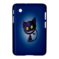 Funny Cute Cat Samsung Galaxy Tab 2 (7 ) P3100 Hardshell Case  by BangZart