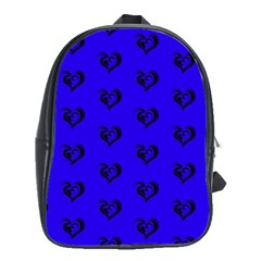 Lovely Hearts 17d School Bags (xl)  by MoreColorsinLife
