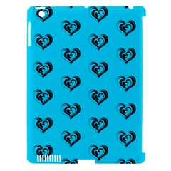 Lovely Hearts 17f Apple Ipad 3/4 Hardshell Case (compatible With Smart Cover) by MoreColorsinLife