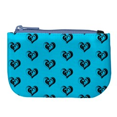 Lovely Hearts 17f Large Coin Purse by MoreColorsinLife