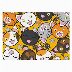 Cats Cute Kitty Kitties Kitten Large Glasses Cloth