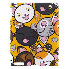 Cats Cute Kitty Kitties Kitten Apple Ipad 3/4 Hardshell Case by BangZart