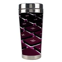 Computer Keyboard Stainless Steel Travel Tumblers by BangZart