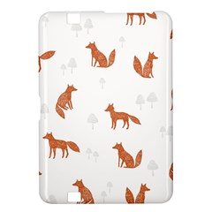 Fox Animal Wild Pattern Kindle Fire Hd 8 9  by BangZart