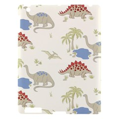 Dinosaur Art Pattern Apple Ipad 3/4 Hardshell Case by BangZart