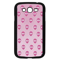Alien Pattern Pink Samsung Galaxy Grand Duos I9082 Case (black) by BangZart