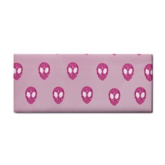 Alien Pattern Pink Cosmetic Storage Cases by BangZart