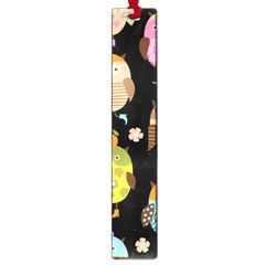 Cute Owls Pattern Large Book Marks by BangZart