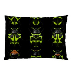 Beetles Insects Bugs Pillow Case (two Sides) by BangZart