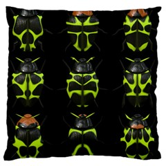 Beetles Insects Bugs Large Cushion Case (one Side) by BangZart