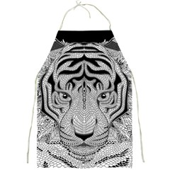 Tiger Head Full Print Aprons by BangZart