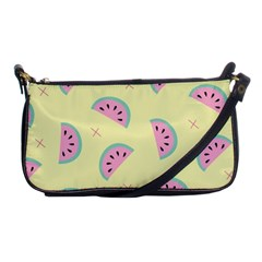 Watermelon Wallpapers  Creative Illustration And Patterns Shoulder Clutch Bags by BangZart