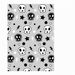 Skull Pattern Small Garden Flag (two Sides) by BangZart