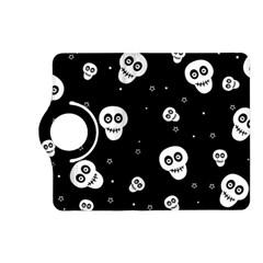 Skull Pattern Kindle Fire Hd (2013) Flip 360 Case by BangZart