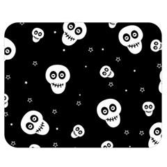 Skull Pattern Double Sided Flano Blanket (medium)  by BangZart