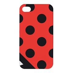 Abstract Bug Cubism Flat Insect Apple Iphone 4/4s Hardshell Case