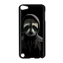 Gangsta Raccoon  Apple Ipod Touch 5 Case (black) by Valentinaart