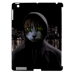 Gangsta Cat Apple Ipad 3/4 Hardshell Case (compatible With Smart Cover) by Valentinaart