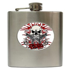 Acab Tribal Hip Flask (6 Oz) by Valentinaart