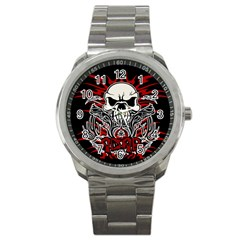 Acab Tribal Sport Metal Watch by Valentinaart